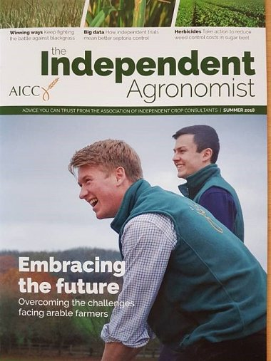 THE INDEPENDENT AGRONOMIST
