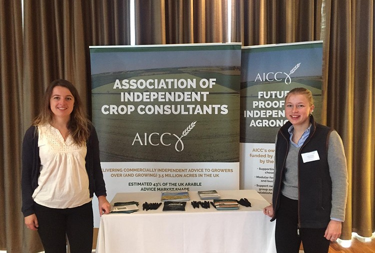 AICC AT AHDB AGRONOMISTS' CONFERENCE
